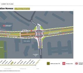 Agrandir Plan de la station Novéos au Plessis-Robinson