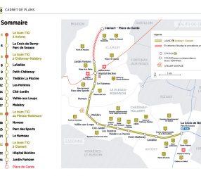 Agrandir La carte des stations du tram T10